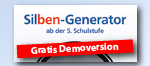 Link -> Genial! Deutsch Silbengenerator Gratis Demoversion