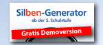 Gratis Demoversion: Silben-Generator